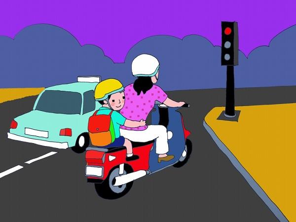 Quy định đội mũ bảo hiểm khi tham gia giao thông