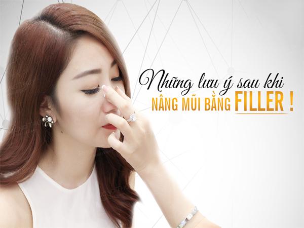 Phương pháp nâng mũi không phẫu thuật bằng Filler