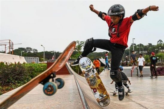 Học hỏi được nhiều kinh nghiệm từ các skater chuyên nghiệp